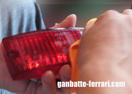 リアフォグ磨き_ganbatte-ferrari