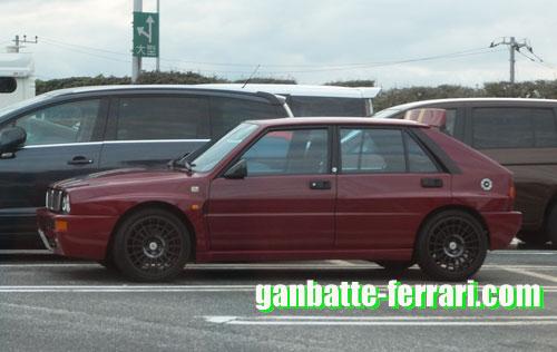都内某所で見かけたランチャ_ganbatte-ferrari