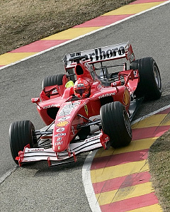 F1マシン_ganbatte-ferrari
